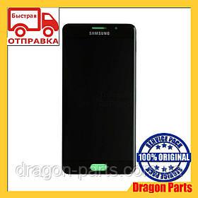 Дисплей Samsung A510 Galaxy A5 с сенсором Черный Black оригинал , GH97-18250B