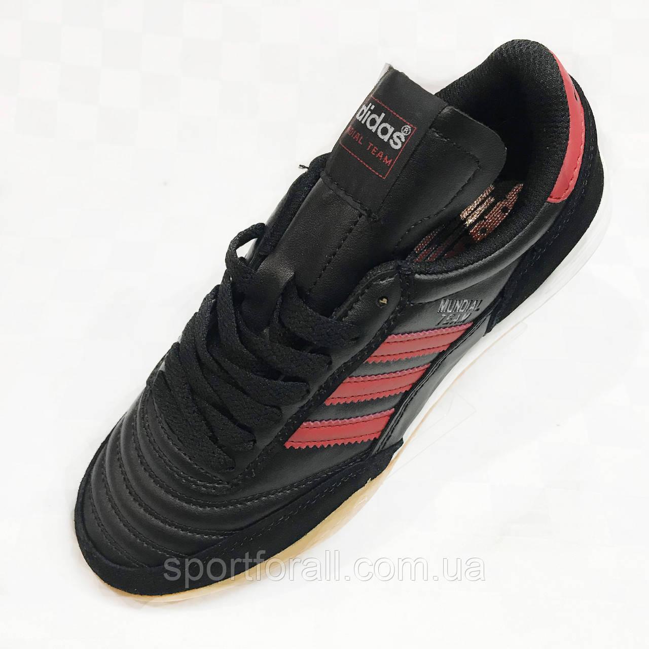 Футбольные сороконожки подростковые Adidas Mundial Team р. 39 B7004-3