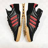 Футбольные сороконожки подростковые Adidas Mundial Team р. 39 B7004-3, фото 5