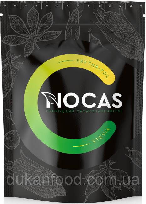 Сахарозаменитель NOCAS Эритрит + стевия, 300 г
