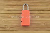 Навесной кодовый замок КД45 навесной (оранжевый), фото 1
