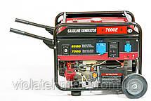 Генератор бензиновый WEIMA WM7000E ATS (7 кВт, 1 фаза, электростартер, автоматика), фото 2
