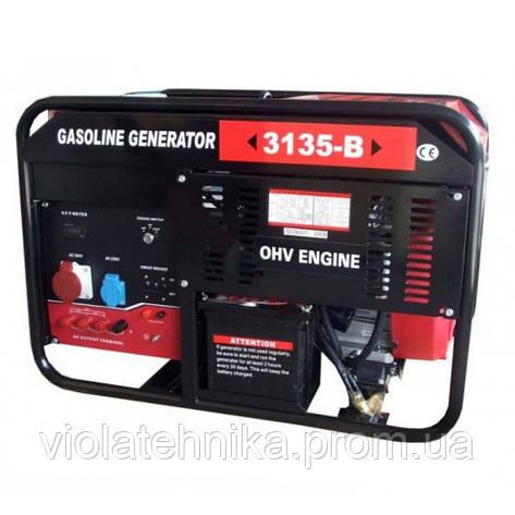 Генератор бензиновый WEIMA WM3135-B (9,5 кВт, 3 фазы, электростартер), фото 2