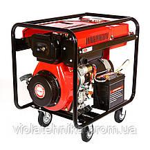 Дизельный генератор Weima WM7000CLE ATS (7 кВт, 1 фаза, электростартер, автоматика), фото 2