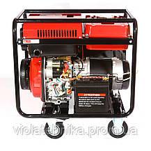 Дизельный генератор Weima WM7000CLE ATS (7 кВт, 1 фаза, электростартер, автоматика), фото 3