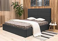 Двуспальная кровать с мягким изголовьем Лофт
