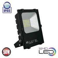 """Прожектор 50 Вт светодиодный Horoz Electric  """"LEOPAR-50""""  6400K"""