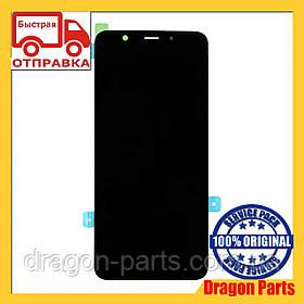 Дисплей Samsung A605 Galaxy A6+ с сенсором Черный Black оригинал , GH97-21878A