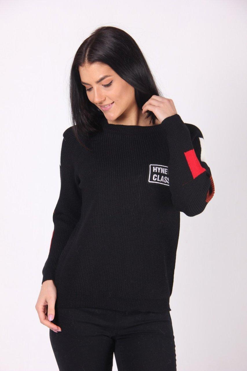 Кофта женская LadiesFashion 9713 (Черный M/L)