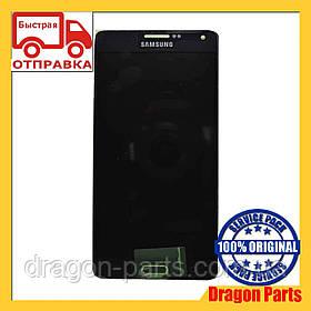 Дисплей Samsung A700 Galaxy A7 с сенсором Черный Black оригинал , GH97-16922B