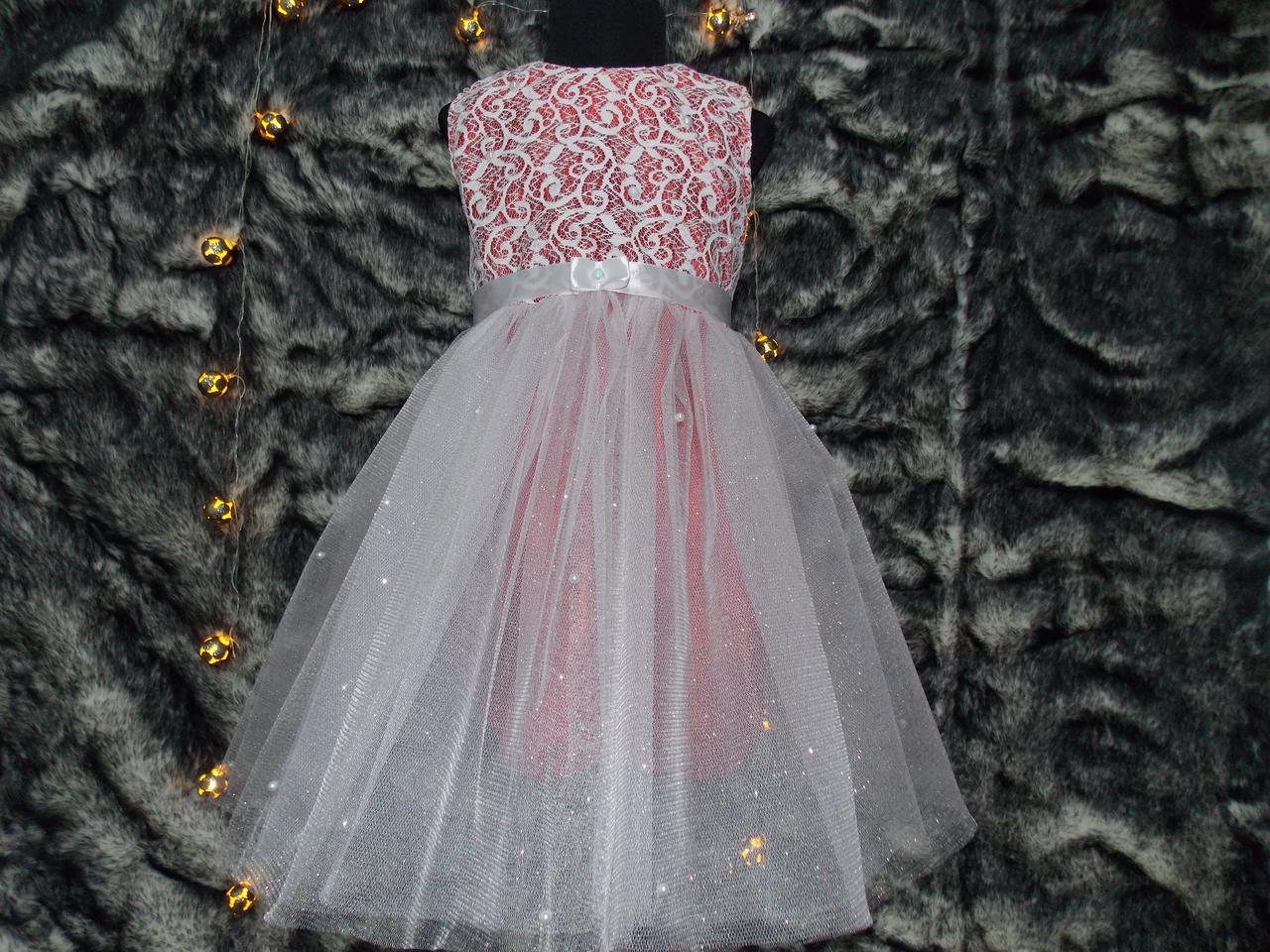 Платье нарядное бальное детское 2-4 лет.