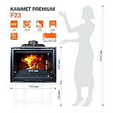 Камінна топка KAWMET Premium F23 (14kW), фото 3