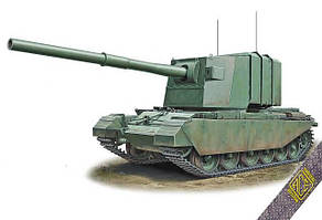 FV4005 183 mm on Centurion Hull (Охотник за ИС-ами) Сборная модель из пластика в масштабе 1/72. ACE 72429