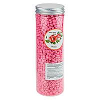 Воск для горячей эпиляции с маслом розы Christian 400g CWAX-401, КОД: 1059032