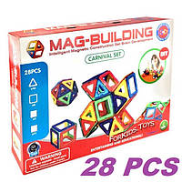 Магнитный конструктор Magical Magnet 28 деталей, фото 1