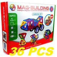 Магнитный конструктор Magical Magnet 36 деталей, фото 1