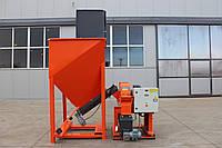 Молотковий подрібнювач RM 71 + Бункер-дозатор BD 125 (подрібнювач деревини, измельчитель, дробилка)
