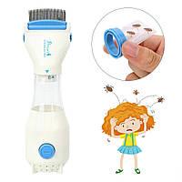 Машинка расческа для вычесывания вшей и гнид | Электрический гребень от вшей Showliss Pro