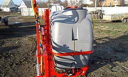 Опрыскиватель навесной 800 л штанга 14 м бак Marseplast, фото 3