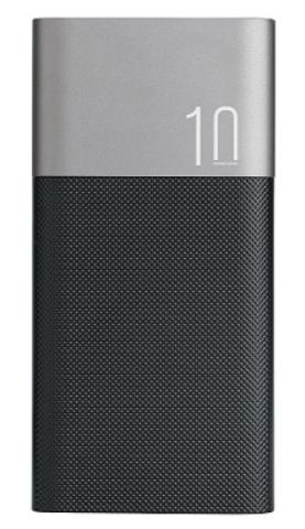 Power Bank Wesdar S48 10000mah black Li-Pol Гарантия 6 месяцев