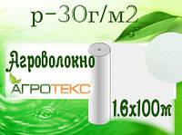 Агроволокно 30 UV белый (1,6х100м) (Агротекс)