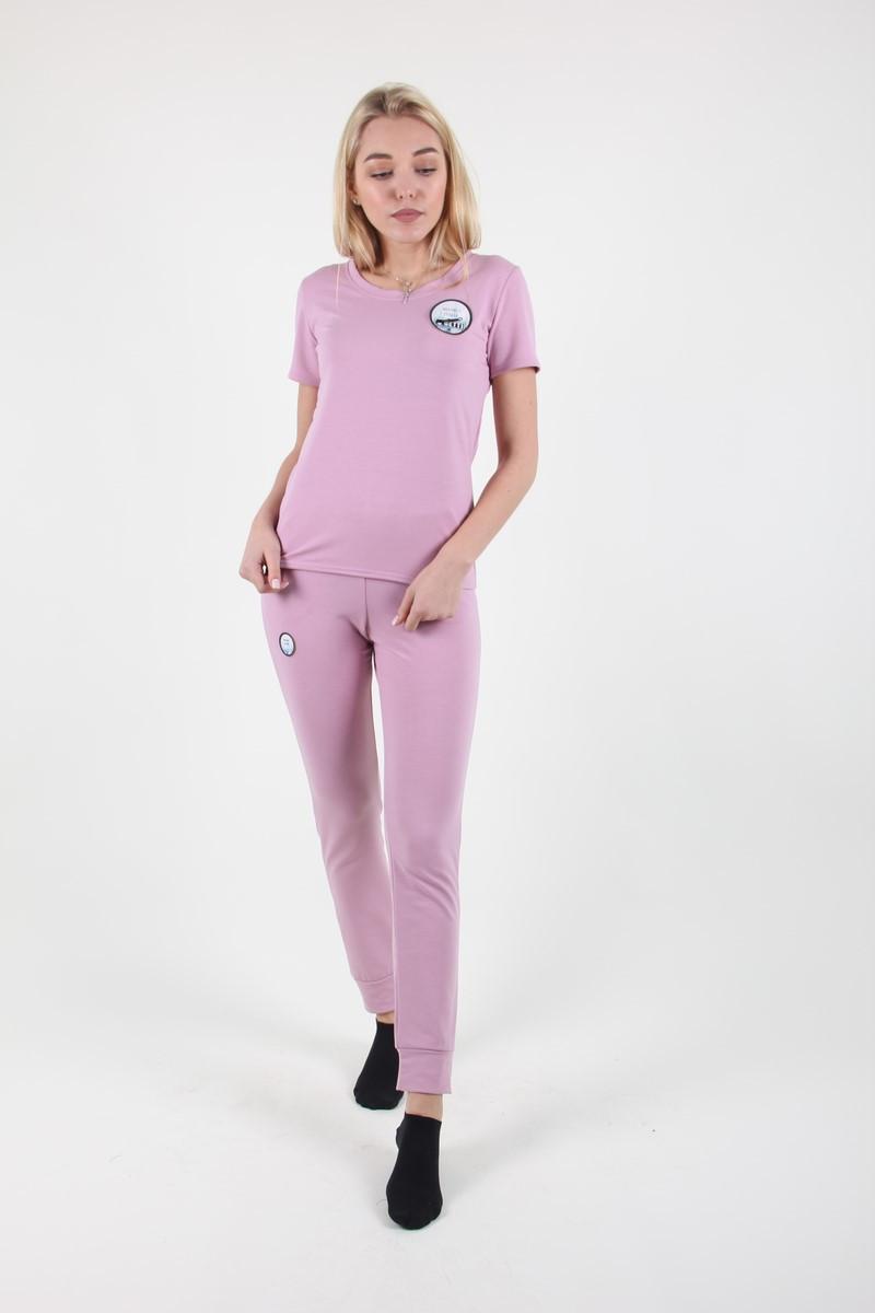 Костюм женский MissFashion 7046 (Розовый L)