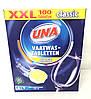 Таблетки для посудомоечной машины UNA 100 шт