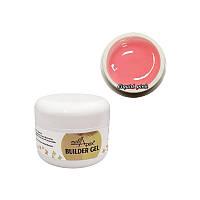Nailapex Liquid Pink Builder Gel - моделирующий гель без опила нежный розовый, 30 мл