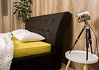 Изысканная двуспальная мягкая кровать Герда