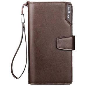 Мужской кошелек портмоне Baellerry Business S1063 коричневый (4751)