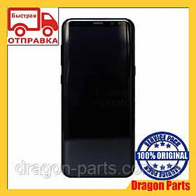 Дисплей Samsung G955 Galaxy S8 plus с сенсором Черный Black оригинал , GH97-20470A