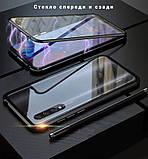 Магнитный металл чехол FULL GLASS 360° для Xiaomi Mi A3 /, фото 5