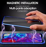 Магнитный металл чехол FULL GLASS 360° для Xiaomi Mi A3 /, фото 6