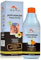 Миндальное масло Mommy Care для купания младенцев с ромашкой органической календулой и лавандой 400 милилитров