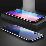 Магнітний метал чохол FULL GLASS 360° для Xiaomi Mi A3 /, фото 8