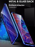 Магнитный металл чехол FULL GLASS 360° для Xiaomi Mi A3 /, фото 9