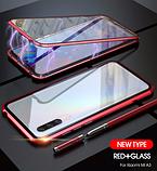 Магнітний метал чохол FULL GLASS 360° для Xiaomi Mi A3 /, фото 10