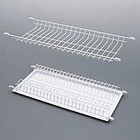 Сушка емаль біла для посуду в кухонну шафу, 40 см / Сушилка эмаль белая для посуды в кухонный шкаф, L= 400 мм