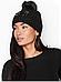Черная женская шапка Victoria Secret. Оригинал! VS 243, фото 2