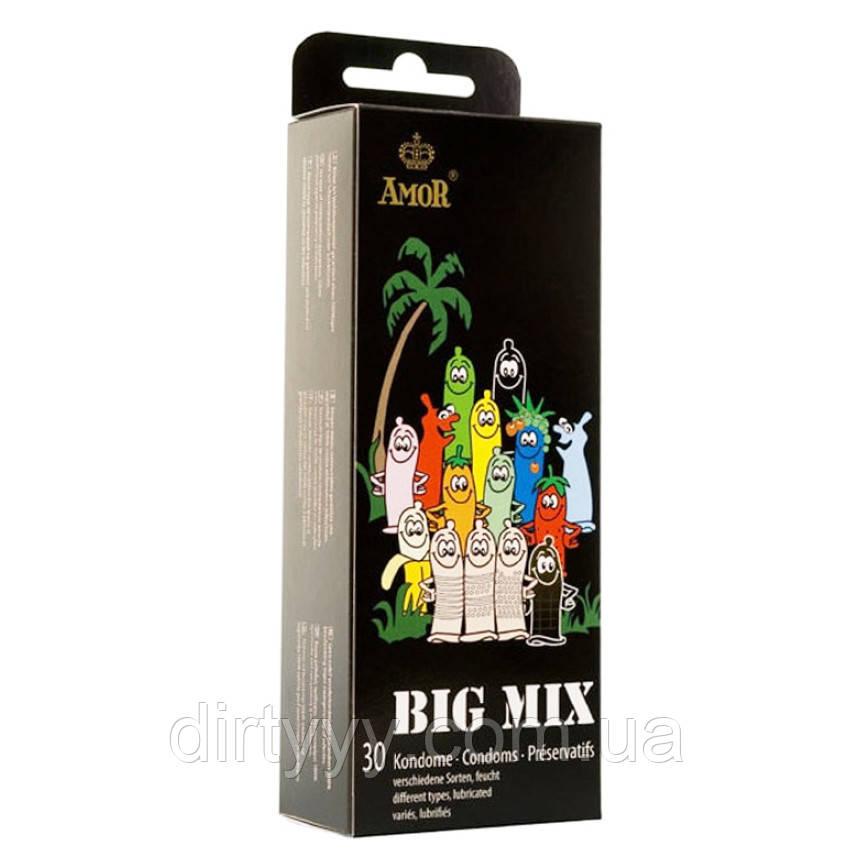 Большой набор презервативов AMOR Big Mix, 30 шт.