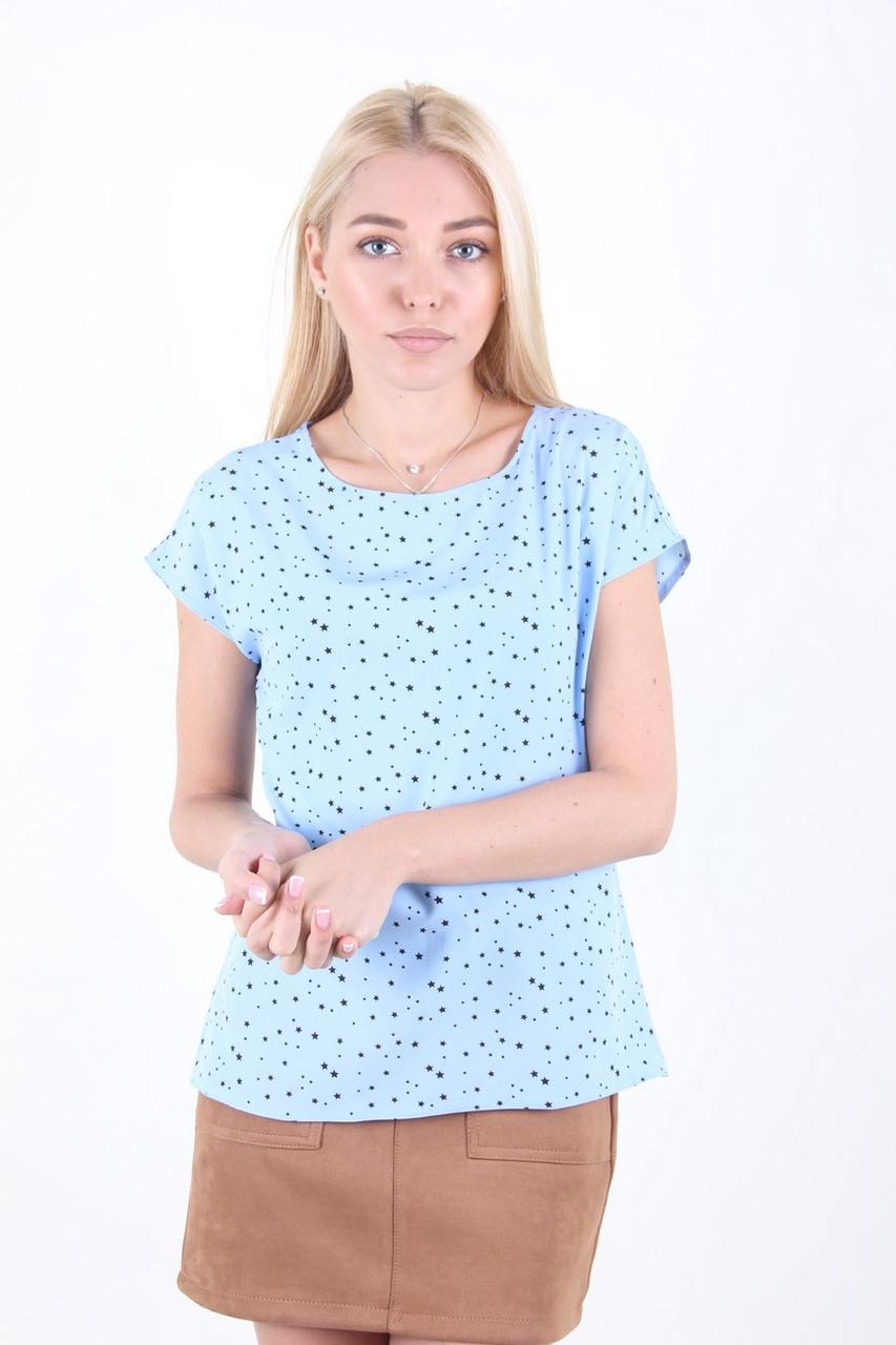 Блузка женская MissFashion 6061 (Голубой 48)