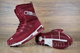 Женские зимние сапоги стиле Adidas | Топ качество