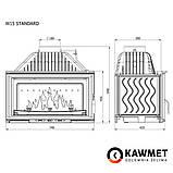 Камінна топка KAWMET W15 (12 kW), фото 5