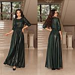Вечірня сукня в підлогу з отлітним поясом від Стильномодно, фото 5