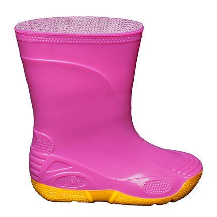 Резиновые сапоги OLDCOM Vivid розовые, фото 2