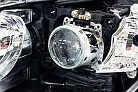 Toyota Camry XV50 - замена линз на биксеноновые Hella 3R