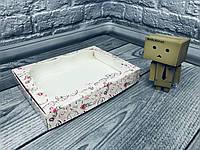 *10 шт* / Коробка для пряников / 150х200х30 мм / печать-Сердце.Кристальное / окно-обычн / лк, фото 1