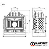Камінна топка KAWMET W4 (14.5 kW), фото 8