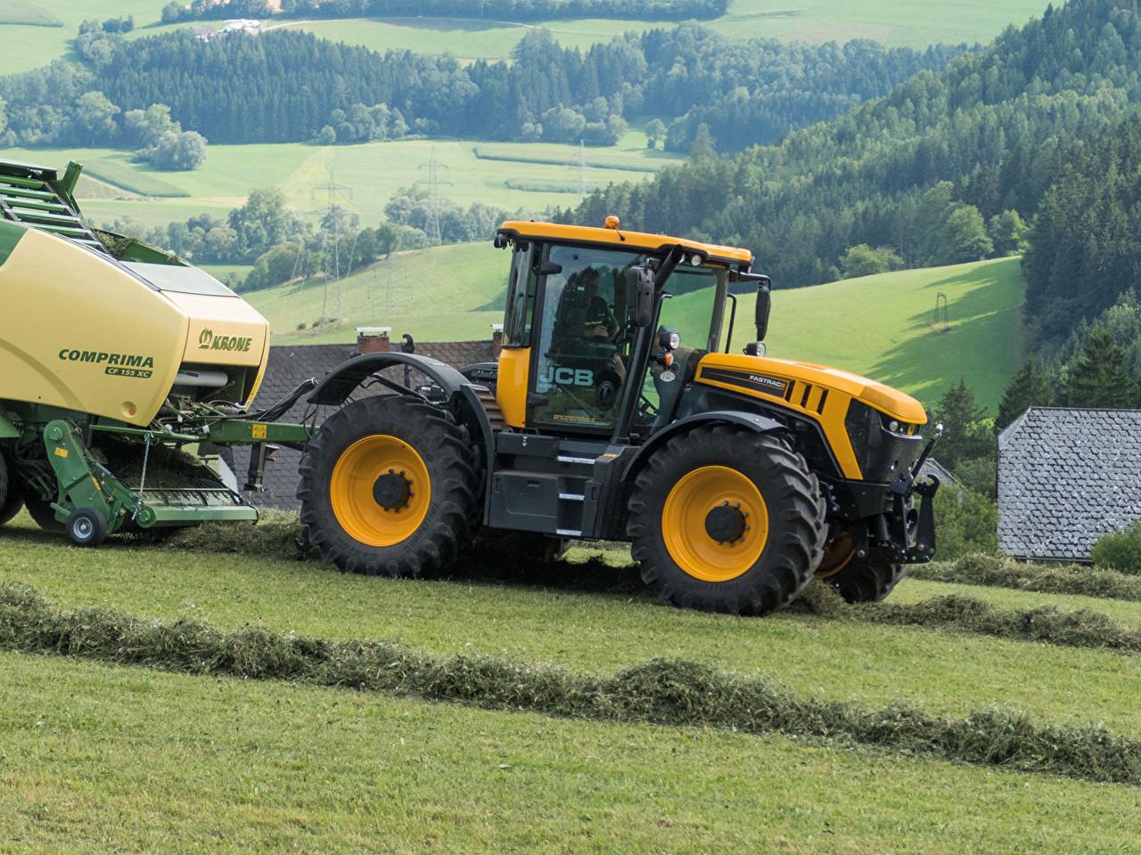 Ремонт гидравлики тракторов JCB