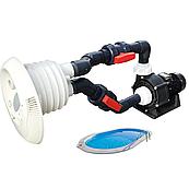Противоток AquaViva WTB400T 80 м³/ч (380В) под бетон/лайнер